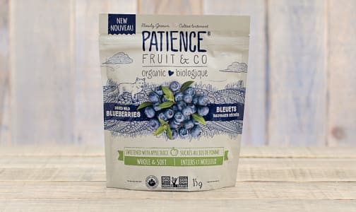 Organic Dried Wild Blueberries Sweetened With Apple Juice- Code#: SN0337