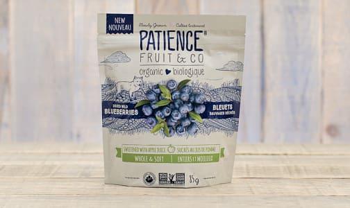 Organic Dried Wild Blueberries Sweetened With Apple Juice- Code#: SN0337