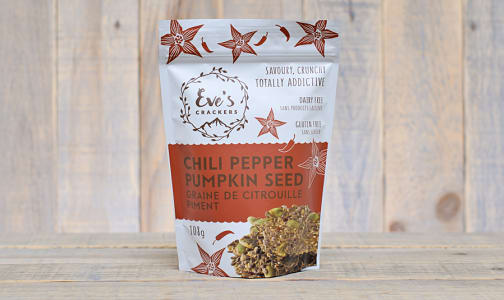 Chili Pepper Pumpkin Seed Crackers- Code#: SN0338