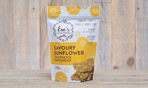 Savoury Sunflower Crackers- Code#: SN0339