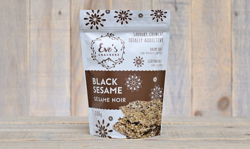 Black Sesame Crackers- Code#: SN0341