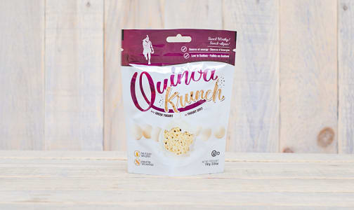 Greek Yogurt Quinoa Puffs- Code#: SN0343