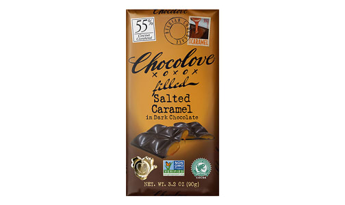 Chocolate Bar - Salted Caramel 55%- Code#: SN0371
