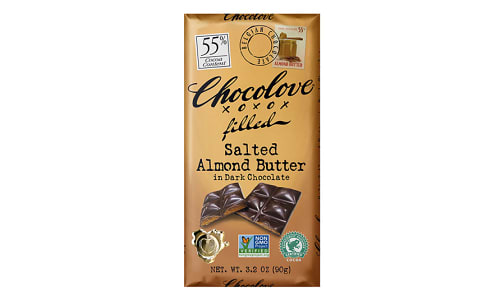 Chocolate Bar - Almond Butter 55%- Code#: SN0372