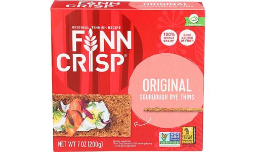 Crispbread - Round Rye- Code#: SN0375