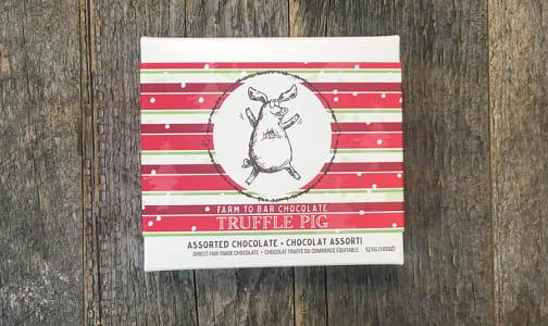 Truffle Pig Christmas Assorted Chocolate Gift Box- Code#: SN0394