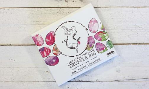 Truffle Pig Easter Dark Chocolate Gift Box- Code#: SN0438