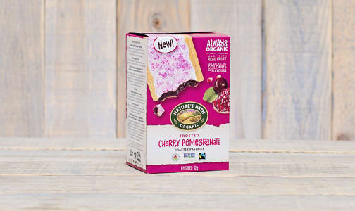 Organic Frosted Cherry Pomegranate Toaster Pastries- Code#: SN0452