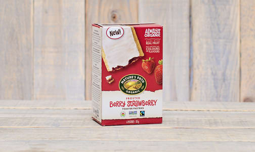 Organic Frosted Berry Strawberry Toaster Pastries- Code#: SN0453