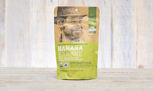 Organic Dried Bananas- Code#: SN0485