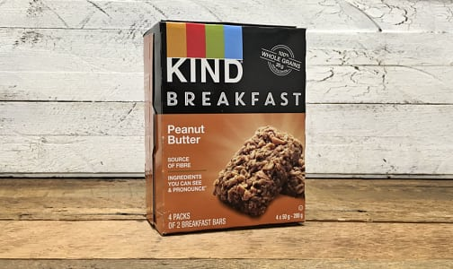 Breakfast Bar Peanut Butter 4x50g- Code#: SN0536