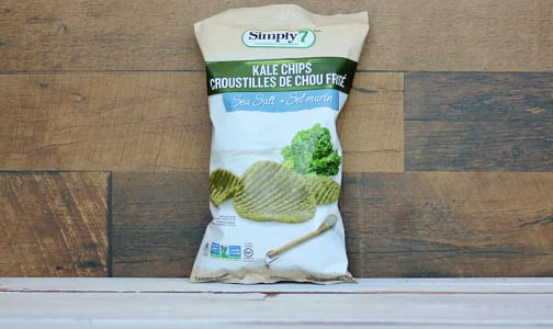 Sea Salt Kale Chips- Code#: SN0585
