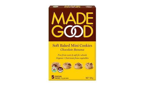 Organic Mini Cookies - Chocolate Banana- Code#: SN0587