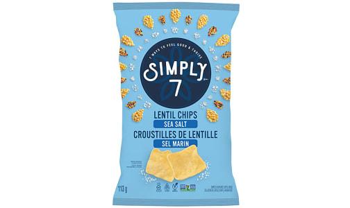 Sea Salt Lentil Chips- Code#: SN0588