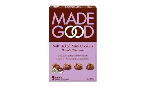 Organic Mini Cookies - Double Chocolate- Code#: SN0589