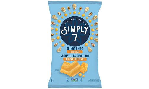 Cheddar Quinoa Chips- Code#: SN0604