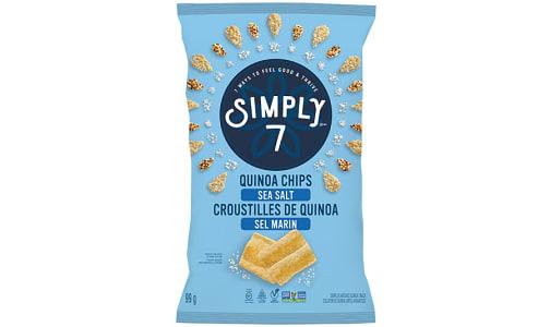 Sea Salt Quinoa Chips- Code#: SN0606