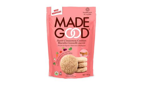 Organic Crunchy Cookies - Sweet Cinnamon- Code#: SN0616