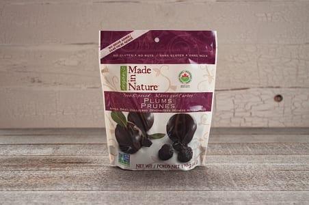 Organic Dried Plums- Code#: SN063