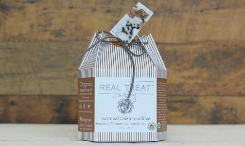 Organic Oatmeal Raisin Cookies- Code#: SN0669