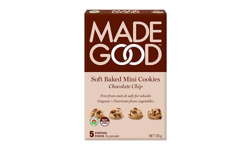 Organic Mini Cookies - Chocolate Chip- Code#: SN0674