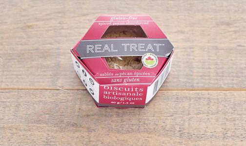 Organic Spiced Pecan Shortbread- Code#: SN0685
