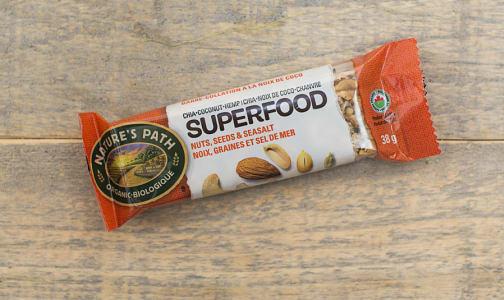 Organic Superfood Nuts & Seeds & Salt Bar- Code#: SN0895