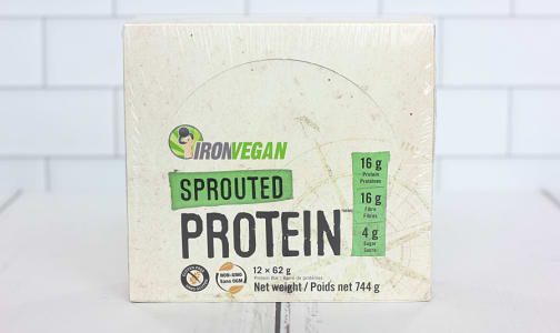 Sprouted Protein Bar - Double Chocolate Brownie - Case- Code#: SN0945