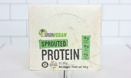 Sprouted Protein Bar - Peanut Chocolate Chip - Case- Code#: SN0947