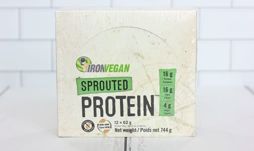 Sprouted Protein Bar - Sweet and Salty Caramel - Case- Code#: SN0949
