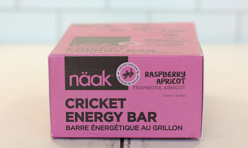 Cricket Energy Bar - Raspberry Apricot- Code#: SN0996