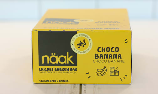 Cricket Energy Bar - Choco Banana- Code#: SN1004