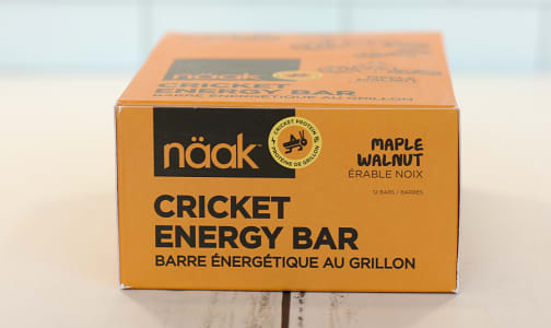Cricket Energy Bar - Maple Walnut- Code#: SN1021