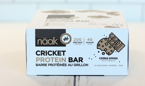 Cricket Protein Bar - Cookie Dough- Code#: SN1023