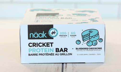 Cricket Protein Bar - Blueberry Cheesecake- Code#: SN1025