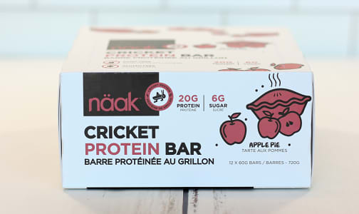 Cricket Protein Bar - Apple Pie- Code#: SN1027