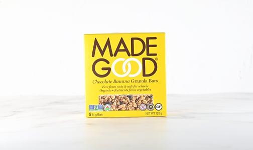 Organic Chocolate Banana Granola Bars- Code#: SN1029