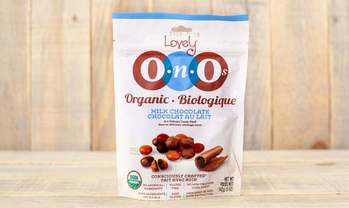 Organic Milk Chocolate OnOs- Code#: SN1086