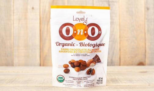 Organic Dark Chocolate Almond OnOs- Code#: SN1087