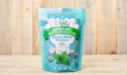 Organic Breath Mints- Code#: SN1091
