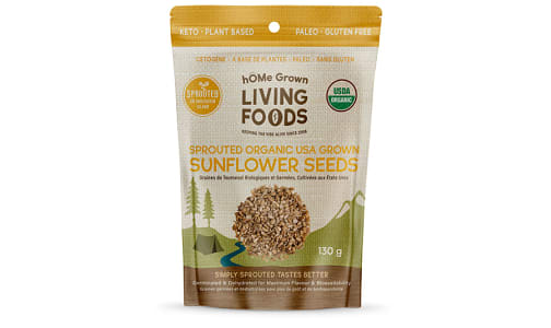 Organic Sprouted Sunflower Seeds- Code#: SN1093
