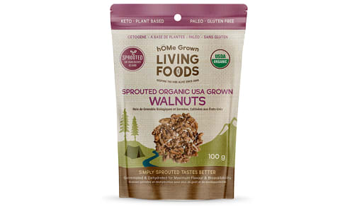 Organic Sprouted Walnuts- Code#: SN1096