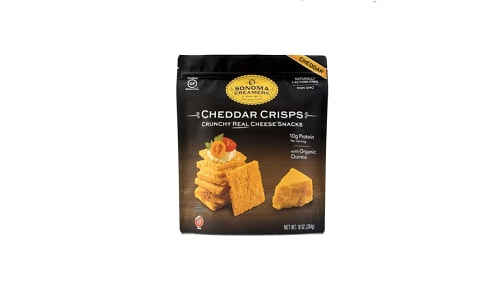 Cheddar Cheese Crisps- Code#: SN1126