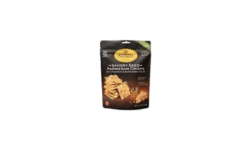 Savory Seed Cheese Crisps- Code#: SN1128