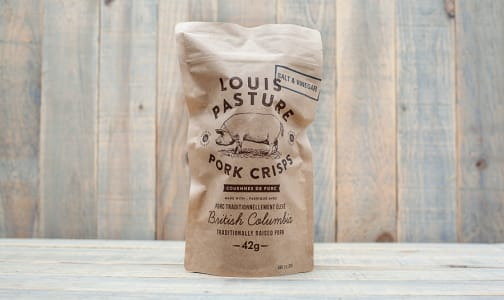Pork Crisps Salt & Vinegar- Code#: SN1132