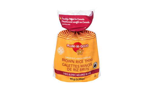 Organic Rice Thins - 5 Rice Blend- Code#: SN1151