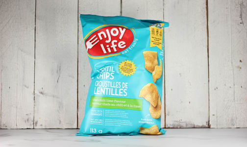Lentil Chips - Thai Chili Lime- Code#: SN1163