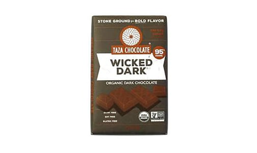Organic Amaze Bar - Wicked Dark 95%- Code#: SN1194