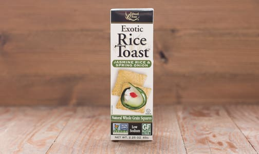 Exotic Rice Toast - Jasmine Rice & Spring Onion- Code#: SN1220