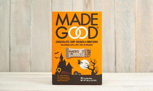 Organic Halloween Chocolate Chip Granola Mini Bars - 30pk- Code#: SN1287